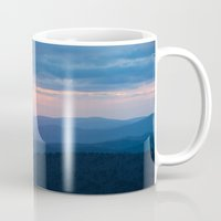 tennessee Mugs featuring Sunset in Tennessee by GF Fine Art Photography