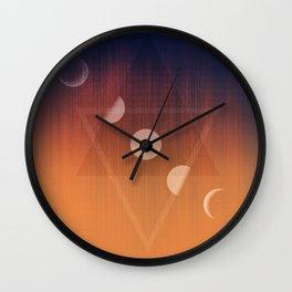 Geometrics Wall Clock