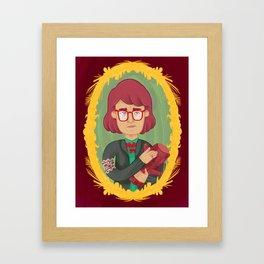 The Log Lady Framed Art Print