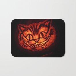 Cat pumpkin Bath Mat