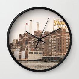 Domino Sugar  - Baltimore Wall Clock