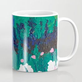 Blue Wooden Door  Coffee Mug