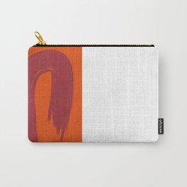Laranja vermelho 01 Carry-All Pouch