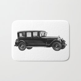 Vintage car - Packard eight limousine sedan Bath Mat
