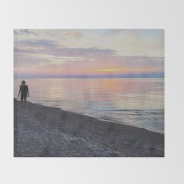 Cotton Candy Skies  Throw Blanket