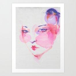 Chinese Girl 2. Art Print