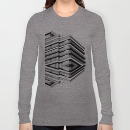 Hotel Merriot Budapest. Deconstruction Long Sleeve T-shirt