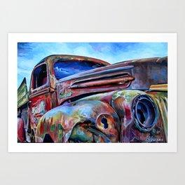 """Rusty"" Art Print"