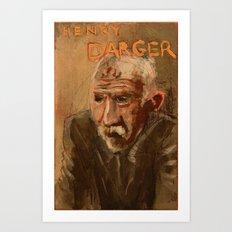 50 Artists: Henry Darger Art Print
