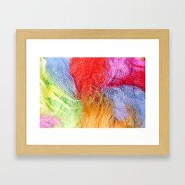 Troll hair Framed Art Print