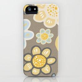 Big Bold Modern Floral No. 10 iPhone Case