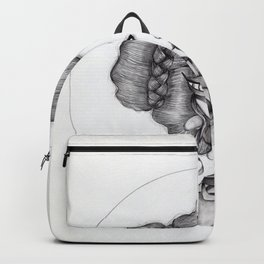 JennyMannoArt Graphite Illustration/Sophie Backpack