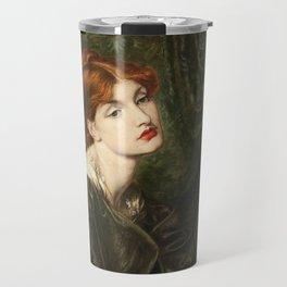 Dante Gabriel Rossetti - Veronica Veronese Travel Mug