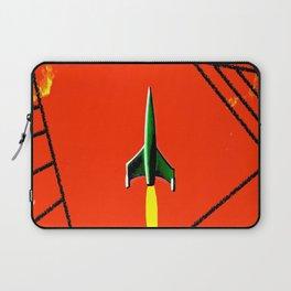 Red Planet Landing Laptop Sleeve