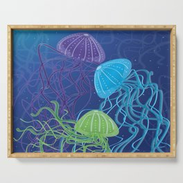Ethereal Jellies Serving Tray