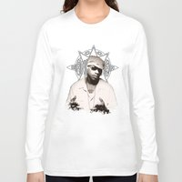 2pac Long Sleeve T-shirts featuring Guru // GangStarr by Gold Blood