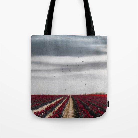 Flower Horizon Tote Bag