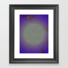 Signs in the Sky Collection - Luna Caida Framed Art Print