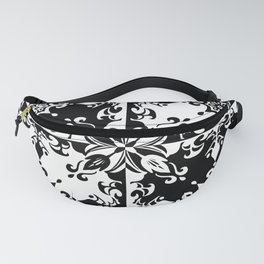 Black and White Tiles Fanny Pack