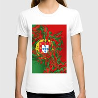 portugal T-shirts featuring Portugal by Danny Ivan