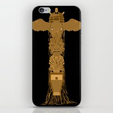 Doctor Who Totem Pole iPhone & iPod Skin