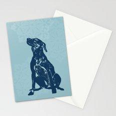 Vizsla Dog Art Stationery Cards