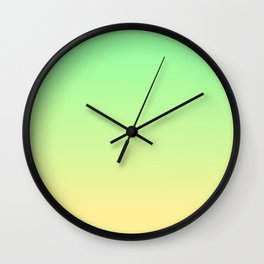 Chrysoprase and Citrine Wall Clock
