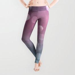 Unicorn Colored Bokeh #1 #pastel #shiny #decor #art Leggings