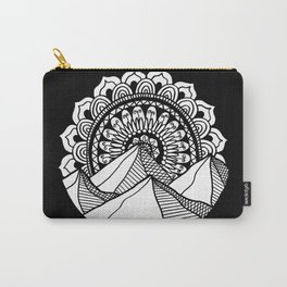 Mountain Mandala Carry-All Pouch