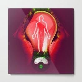 Body energy Metal Print