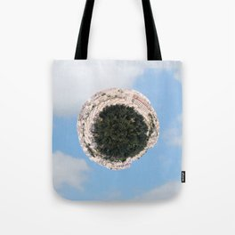 """Worlds in Jerusalem"" - City Neighborhood Tote Bag"