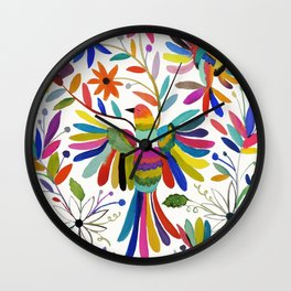 otomi bird Wall Clock