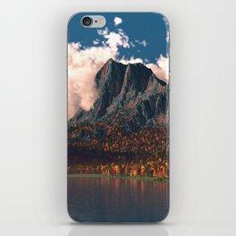 Autumn Cliffs iPhone Skin