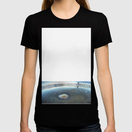 Chris Harsh Photos * A Low Tide Sand Dollar * Huntington Beach Pier  T-shirt