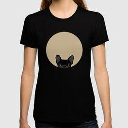 French Bulldog - Black on Tan T-shirt