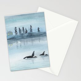Nature is my home Stationery Cards