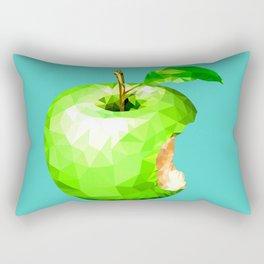 Bite Apple Rectangular Pillow