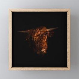 Highland Beauty Framed Mini Art Print