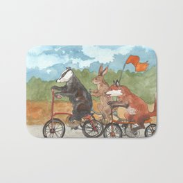 Bike Race Bath Mat