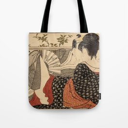 Lovers In The Upstairs Room Tote Bag