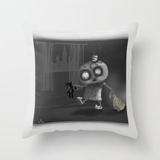 It is for your own safety Throw Pillow