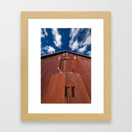 Red Barn Framed Art Print