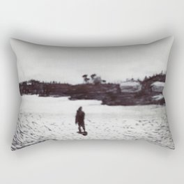 Low Tide, Bay of Fundy Rectangular Pillow
