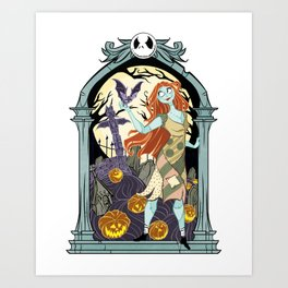 Sally's Spirit Guide Art Print