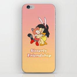 Yume and Gemma- Sisterly Friendship iPhone Skin