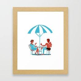 Waiting for Tea Framed Art Print