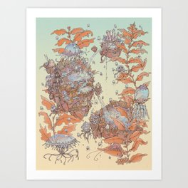 Limpid Souls Art Print