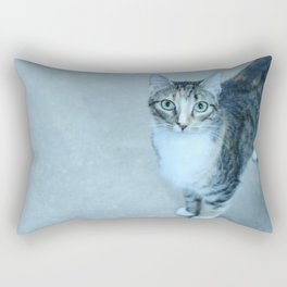 Revina the Cat with the Precious Face Rectangular Pillow