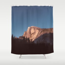 Yosemite Sunset II Shower Curtain