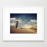 door Framed Art Prints featuring Door by MiraRuido